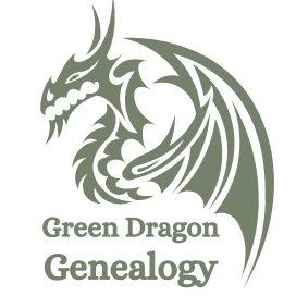 Green Dragon Genealogy Logo